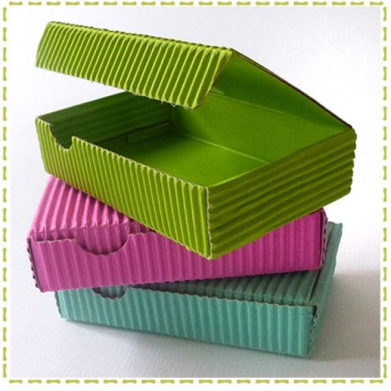 1000 images about dulceros papel corrugado on pinterest for Cajas de regalo de carton