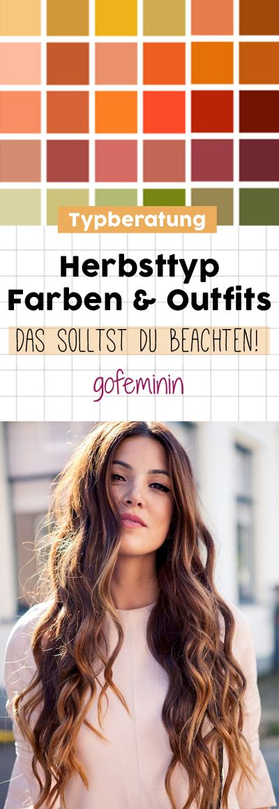 Herbsttyp: Farben & Outfits