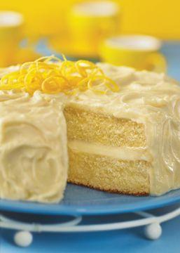 Lemon Cake Recipe.  Must make this for Mom's birthday.  Lemon cake is her favorite.