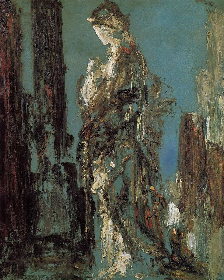 The Athenaeum - Study of Helen (Gustave Moreau - circa 1890)