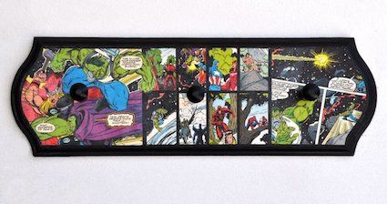 15 comic book crafts using Mod Podge