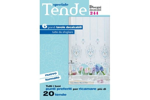 Hand Embroidery Designs - Curtains n. 244