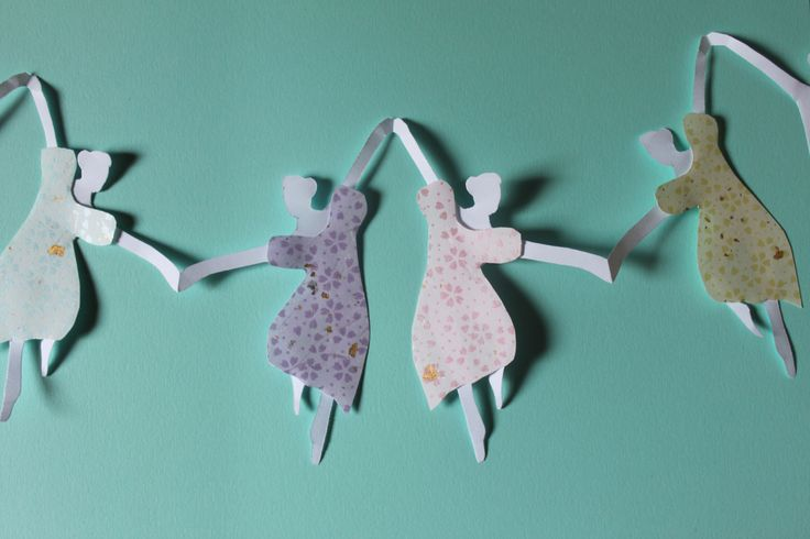 You may be wondering just what an asymmetrical paper chain is. Well, have you ever made a paper doll chain? The kind where you cut half of the doll from a center vertical fold, meaning that whate...