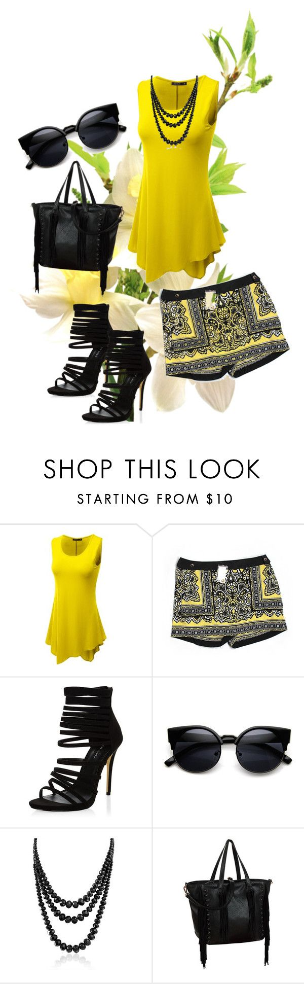 """""""Untitled #31"""" by reetta-v on Polyvore featuring Doublju, Caché, Bling Jewelry and Melie Bianco"""