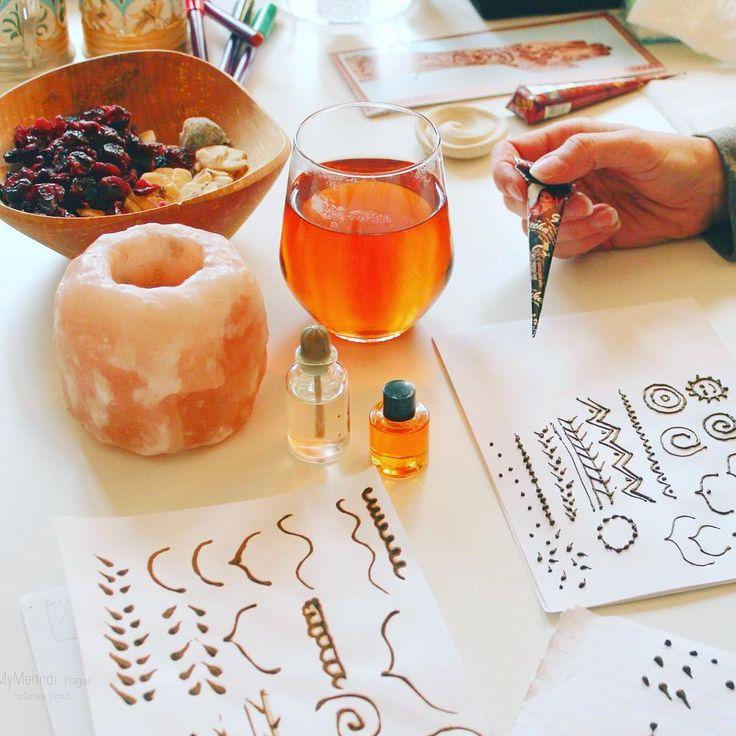 Henna workshop <3 #henna #mehndi #mymehndiprague #masterclass