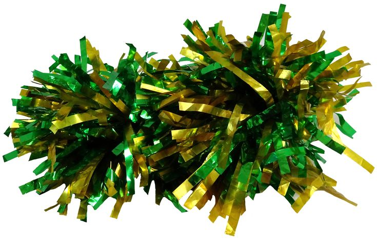 These green and gold cellophane pom poms are just the thing for your doll to cheer on her favourite Aussie athlete at the upcoming Commonwealth Games.  They have elastic straps that slip over the dolls hands.  Aussie Aussie Aussie, Oi Oi Oi!!!