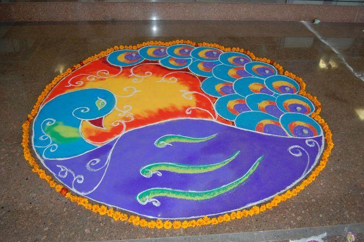 RANGOLI : Folk Art of India - AYURVEDA DUBLIN