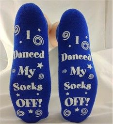 Bat Mitzvah Grippy Socks/Party Favors for the dance floor!