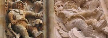 Astronauta de la catedral de Salamanca.