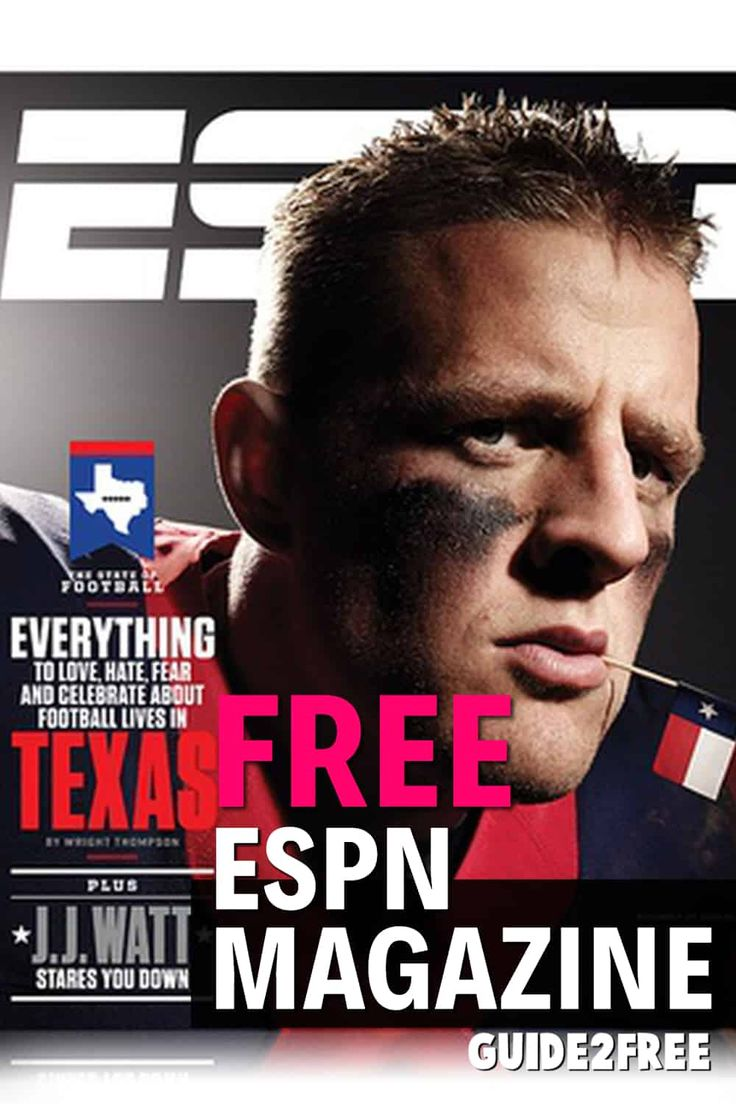 Free espn magazine subscription guide2free samples