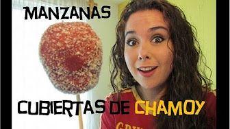 Cocinemos Juntos-Manzanas cubiertas con chamoy - YouTube
