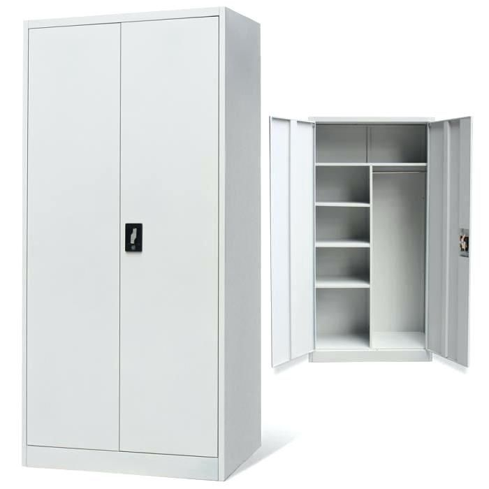 11 Classique Armoire Metallique Chambre In 2020 Office Storage Cupboards Wardrobe Storage Cupboard Storage