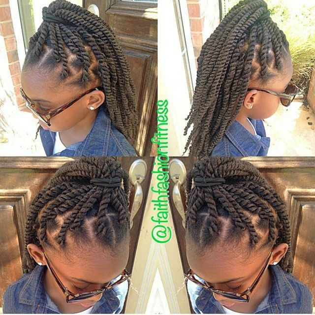 Marley Twists For Little Girls Natural Hairstyles
