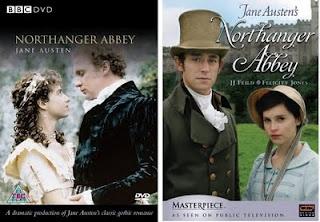 Northanger Abbey. Katharine Schlesinger & Peter Firth (1987). Felicity Jones & JJ Feild (2007). (OWN Both)