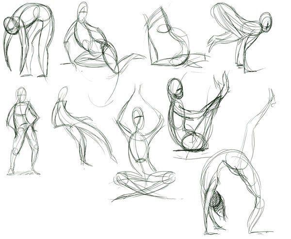 Você sabe o que é desenho gestual?
