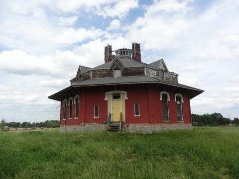 Gregg-Crites Octagon House Circleville, Ohio VIDEO     (Part 1) - YouTube