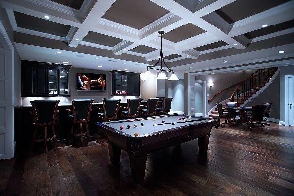 Home Design Ideas Game: Game Room Design, Game