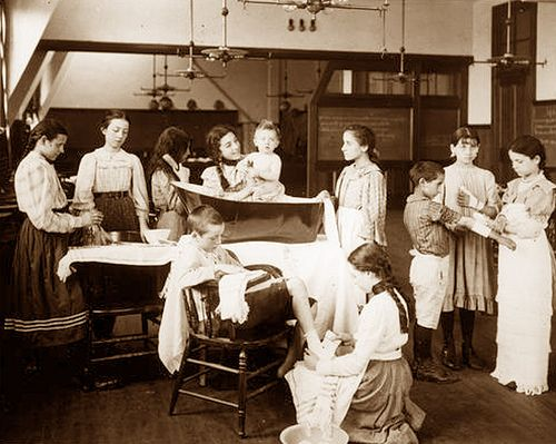 Nursing class 1890's   gaswizard   Flickr