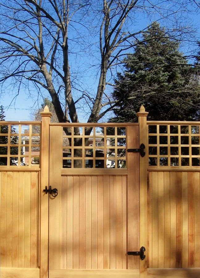 Fence & Gate Design @ Sisson Landscapes