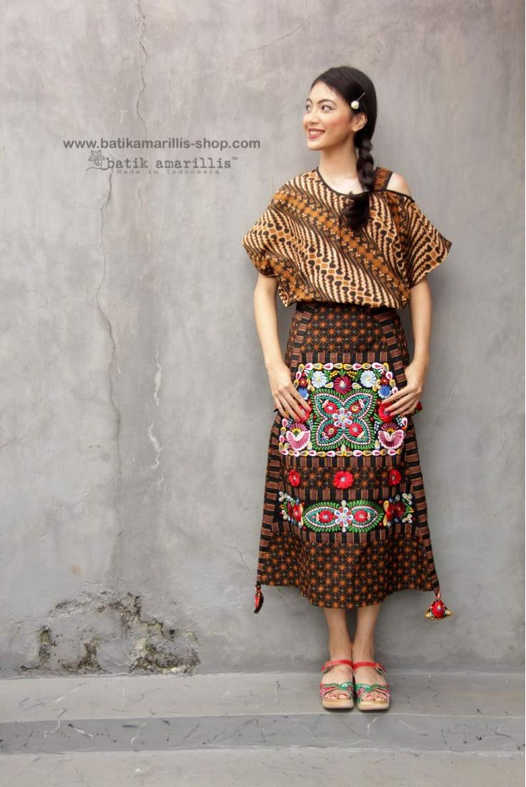 Batik Amarillis made in Indonesia www.batikamarillis-shop.com. - combining multiple cultures of the world is part of our philosophy, where the differences can be united in beauty as our passion & love towards Indonesia's traditional textile such as batik and lurik then we combined it with Hungarian embroidery style #madeinindonesia#batikindonesia#fashioneditorial#fashionphotography#hungarianembroidery