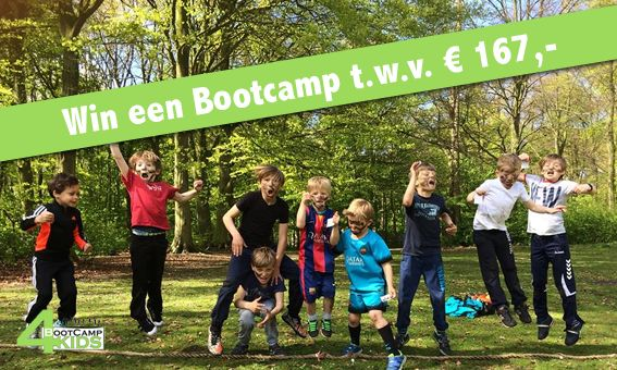 Win een bootcamp t.w.v. €167,-