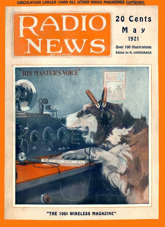 "Radio News...May 1921...""His Master's Voice"" (650×896)"