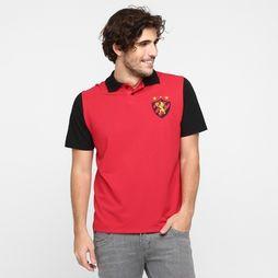 Camisa Sport Recife RN - Vermelho+Preto