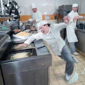 Wisconsin restaurant slip and falls - how many causes can you name? Post them in the comments below.