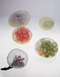 Mariko Kusumoto textile jewelry