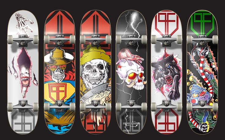 Designs for PF Fingerboards