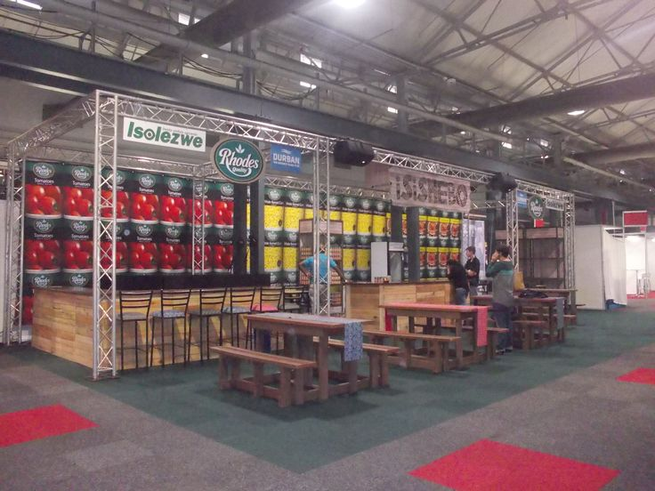 Isishebo Stand - Good Food & Wine Show Durban 2013 #exhibition # recycledpallets #exhibitionstands&events Exhibition Stands & Events, Durban, South Africa