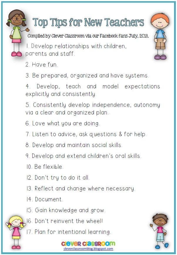 17 Tips For New Teachers From Experienced Teachers. #BacktoSchool