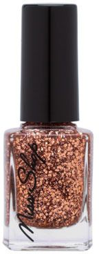 Miss Shop Cosmetics Nail Polish READY RYAN Rose Gold Glitter