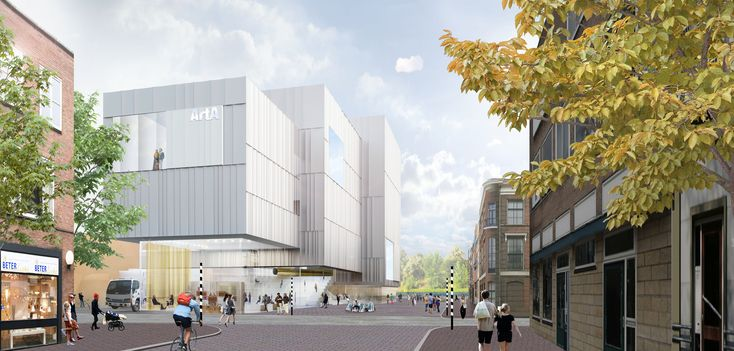 SO-IL Shortlisted to Design Arnhem's ArtA Cultural Center