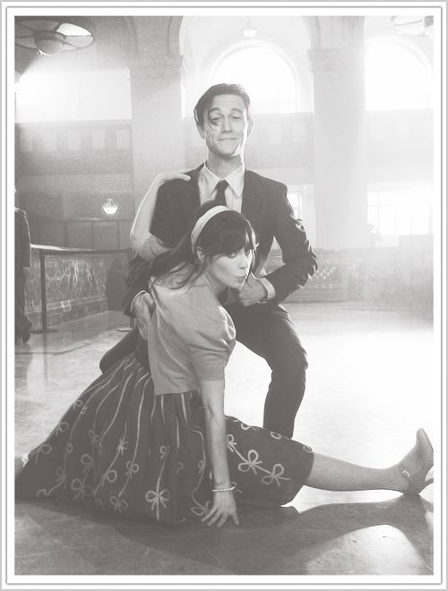 zoey deschanel, joseph gordon levitt I love these guys both amazingly cool