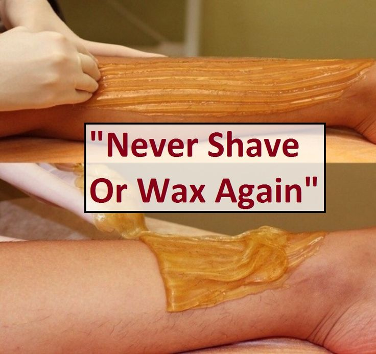 """Never Shave Or Wax Again"""