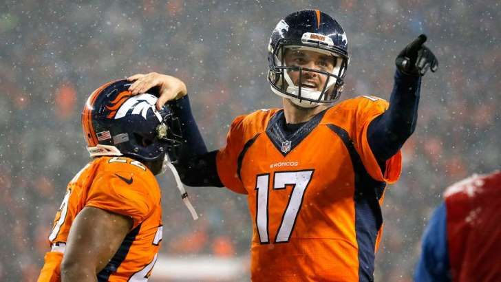 "So does it even matter who plays quarterback for the defending champs 2016? Right now the Broncos have only newly-acquired Mark Sanchez and Trevor Siemian on the roster. Here's how the very Belichick-ian-sounding Anderson put it on Wednesday on PFT Live:  ""It doesn't matter and at the end of the day whoever is lining up behind center, they don't have to be a hero. All they have to do is do their job accordingly. We have to do our job accordingly to make it easy on them and we'll make it…"