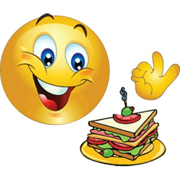 Smileys eating food   Get the emoticons for Facebook, Skype or MSN