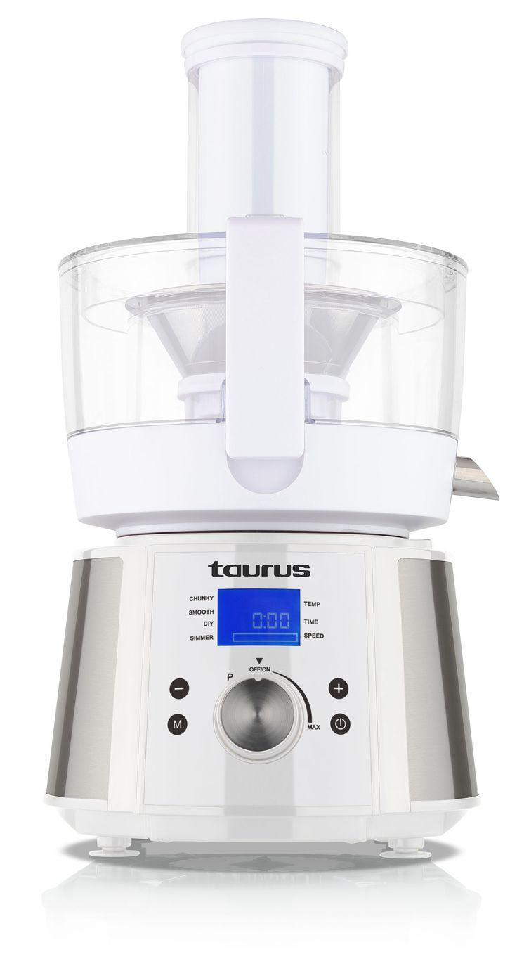 "1100W ""Processador de Cuinar"" Heating Food Processor http://www.taurusappliances.co.za/products/1100w-pocessador-de-cuinar-food-processor-912800"