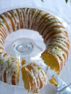 Gin and Tonic Cake -  Aside from being a boozy treat masquerading as afternoon tea, this cake is also gluten-free
