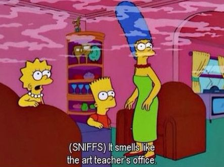 """And this familiar scent. 