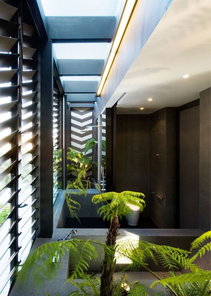 Captivating Contemporary Origami House In Singapore By Formwerkz Architects (12) Good Ideas