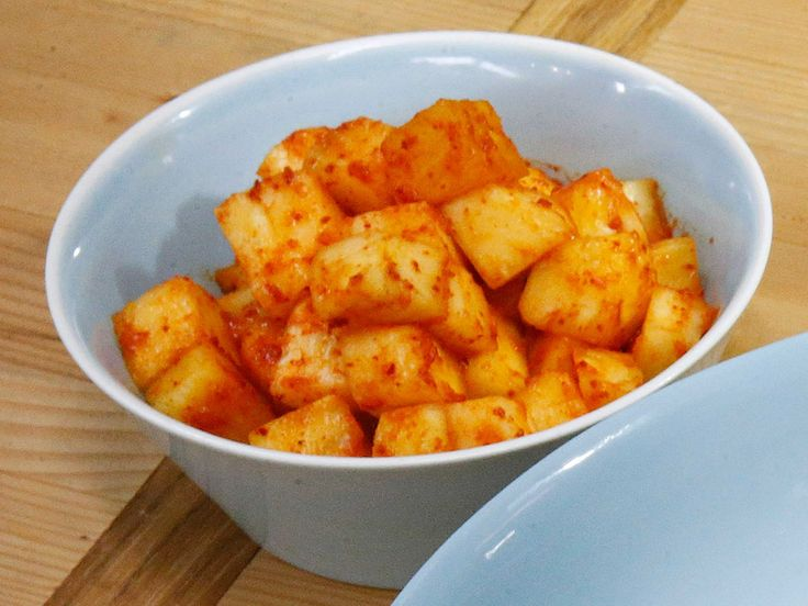 Pineapple Kimchi recipe from The Kitchen via Food Network