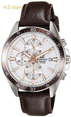 Casio Edifice Chronograph White Watch