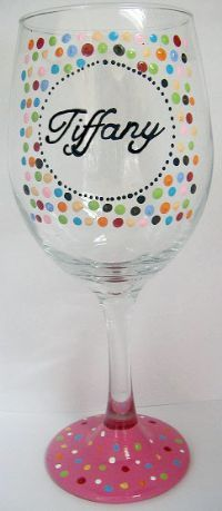 25 best ideas about personalized wine glasses on pinterest personalized wine bridesmaid glasses and bridesmaid wine glasses - Wine Glass Design Ideas