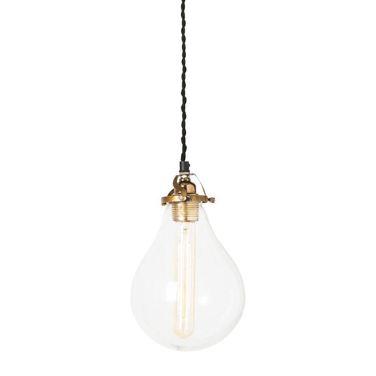 Droppe Plain Lampe, Stor, Watt