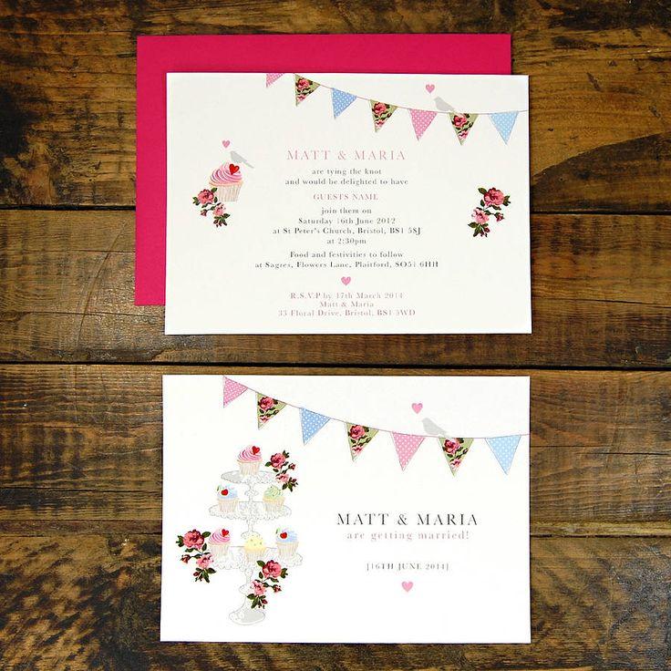 summer fete wedding invitations%0A Vintage Inspired Fete Wedding Invitation