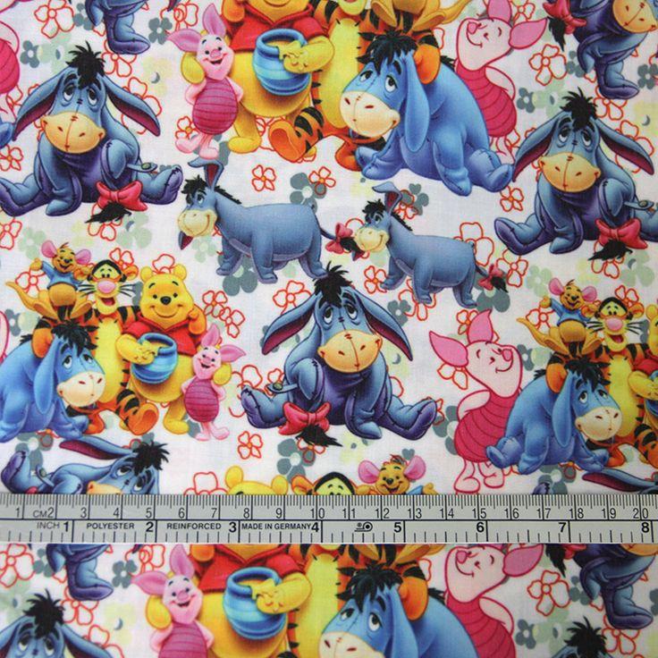 42325 50*147 CM patchwork gedrukt katoen cartoon Eeyore ontwerp stof voor Tissue Kids Beddengoed thuis textiel voor Naaien Tilda Pop in Van harte welkom om op maat uw eigen ontwerpen, beste prijs voor moq en lint. Hars. Faric.... Pls contact met ons op voo van stof op AliExpress.com | Alibaba Groep
