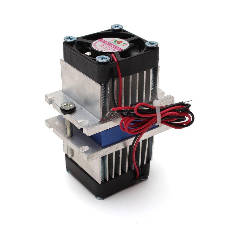 Diy thermoélectrique peltier système de refroidissement + kit ventilateur