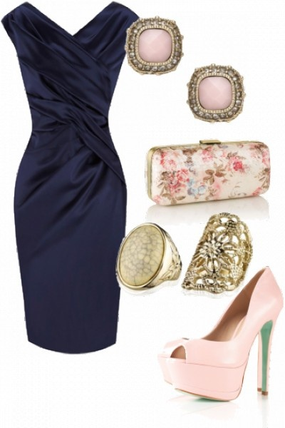 Best 25 navy dress accessories ideas on pinterest girls for How to match jewelry with prom dress